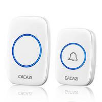 Беспроводной дверной звонок Cacazi A10, Белый