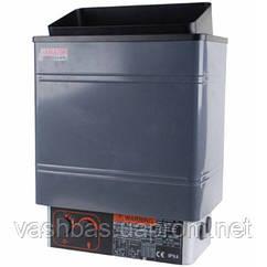 Keya Sauna Электрокаменка Amazon AM90MI-C 9 кВт с выносным пультом CON4 (нержавеющая сталь)