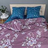 Комплект постельного белья KrisPol «Цветы весны» 180x220 Сатин, фото 4