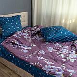 Комплект постельного белья KrisPol «Цветы весны» 180x220 Сатин, фото 3