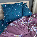 Комплект постельного белья KrisPol «Цветы весны» 180x220 Сатин, фото 2