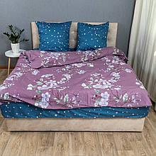 Комплект постельного белья KrisPol «Цветы весны» 200x220 Сатин