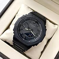 Часы CASIO G-Shock GA-2100-1A1ER наручные спортивные водостойкие с таймером, секундомером, подсветкой