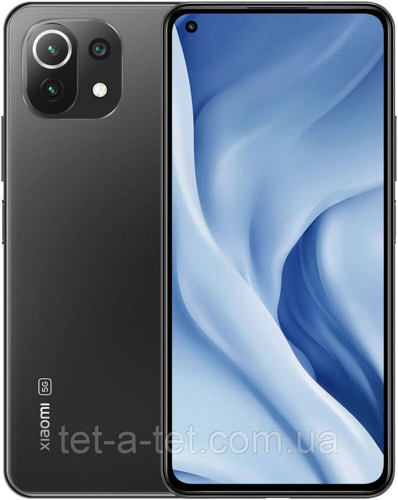 Смартфон Xiaomi Mi 11 Lite 5G 6/128GB Truffle Black  (UA UCRF)