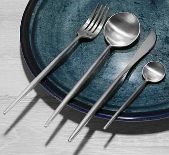 Набор приборов DS Silver 4 предмета на 1 персону