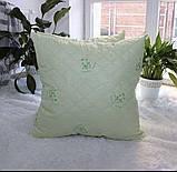 Подушка Холлофайбер + бамбук розмір 70х70 см, фото 2