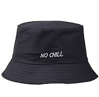 Модная вышивка NO CHILL, шляпа-ведро, хип-хоп, пляж, женская, Панама мужская/женская
