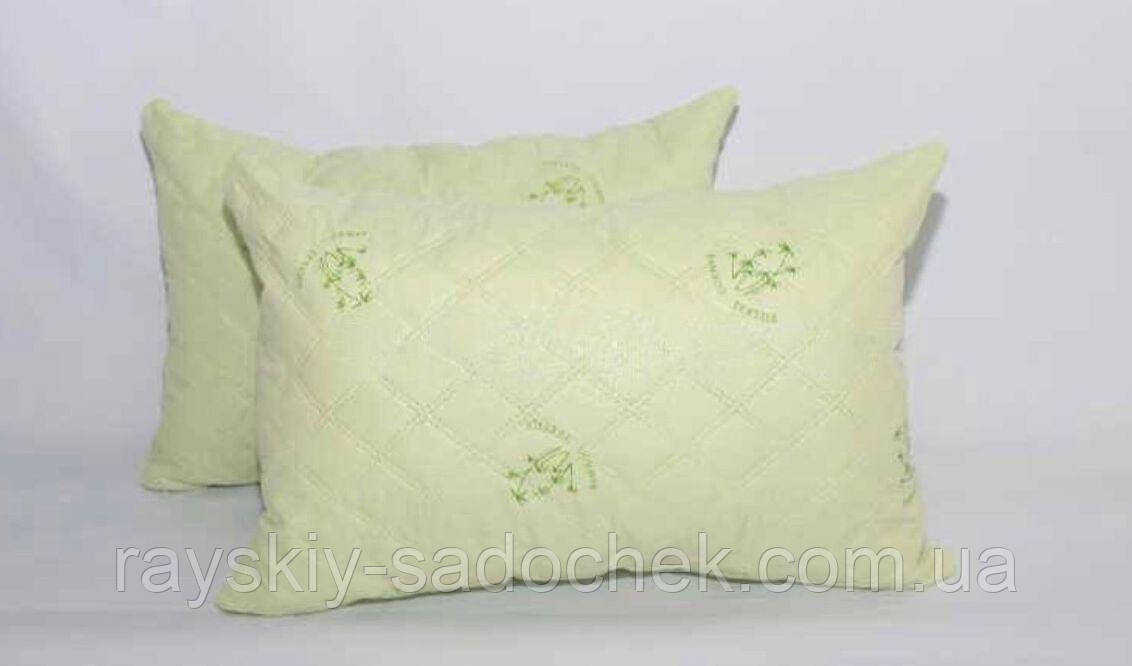 Подушка Холлофайбер + бамбук размер  50х70 см