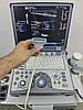 GE Logiq E (2012) с телегой и принтером + 2 датчика (линейный и ковексный) Портативный Аппарат УЗИ, фото 3