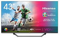 Телевизор HISENSE 43A7500F Smart TV UHD 4K T2 S2 43 дюйма