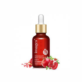 Сироватка для обличчя з гранатом і гіалуронової кислотою images pomegranate skin natural fresh 15 мл