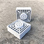 Змінний HEPA фільтр для очисника повітря композитний, вугільний. 4*4 см, фото 6
