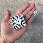 Змінний HEPA фільтр для очисника повітря композитний, вугільний. 4*4 см, фото 3