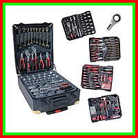 Набор инструментов в чемодане 408 PCS с трещеткой