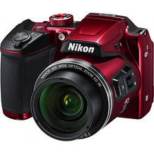 Цифровий фотоапарат Nikon Coolpix B500 Red (VNA953E1)