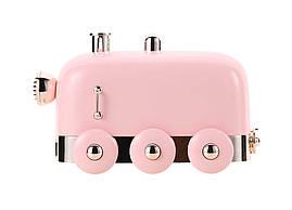 Увлажнитель воздуха Humidifier Паровоз с подсветкой Розовый