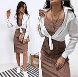 """Летнее платье сарафан в горошек """"Agata"""", фото 5"""