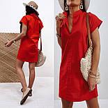 """Жіноче лляне плаття літнє """"Avrora""""  Норма, фото 8"""