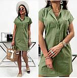 """Жіноче лляне плаття літнє """"Avrora""""  Норма, фото 9"""