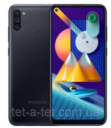 Смартфон Samsung Galaxy M11 3/32GB Black