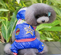Зимний комбинезон STAR для маленьких собак