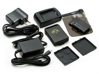 Портативный GPS-трекер TK-102 Full Original - Точность 5 метров, GSM Прослушка, 2 аккумулятора