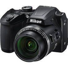 Цифровий фотоапарат Nikon Coolpix B500 Black (VNA951E1)