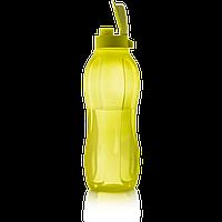 Еко-пляшка 1,5 л зелена\саталовая, багаторазова пляшка для води Tupperware (Оригінал)