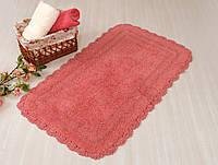 Коврик для ванной хлопок 70х120 IRYA SAHRA т.розовый
