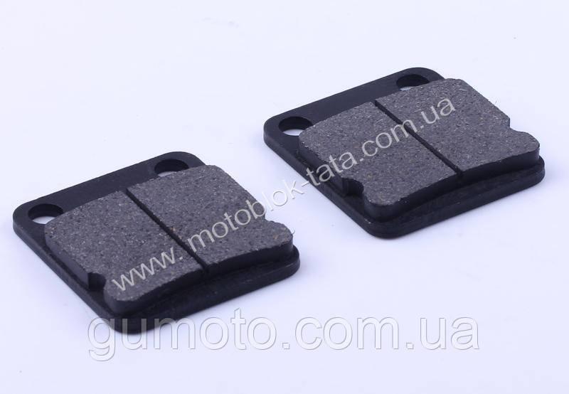 Колодки передние (дисковый тормоз), квадрат, к-т: 2 шт.