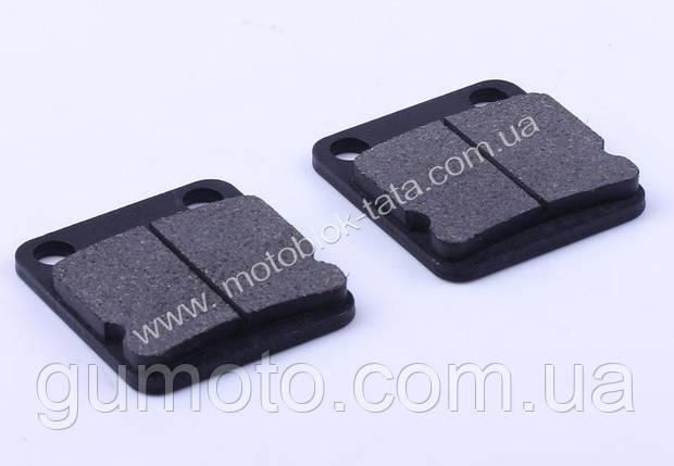 Колодки передние (дисковый тормоз), квадрат, к-т: 2 шт., фото 2
