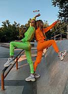 Спортивный костюм двойка из плащевки (укороченная кофта и штаны), фото 5