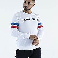 Белый свитшот Louis Vuitton