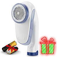 Машинка для удаления и снятия катышек с одежды электрическая Shave FL-2008 White | Машинка для чистки катышков