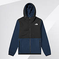 Флисовая куртка The North Face (Черно-синяя)