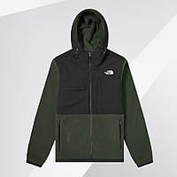 Флисовая куртка The North Face (Черно-зеленый)