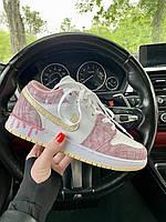 Женские разноцветные кроссы Nike Jordan 1 Retro Low Multicolor. Кроссовки женские Найк Аир Джордан Ретро 1 Лоу