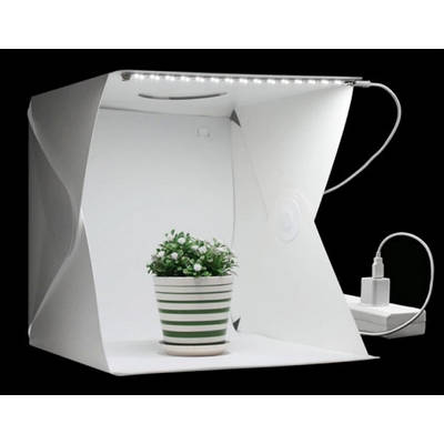 Фотобокс – лайтбокс с LED подсветкой для предметной съемки Белый