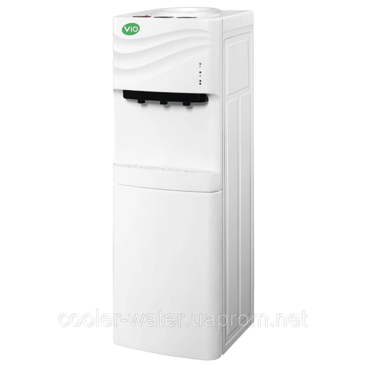 Кулер с компрессорным охлаждением и холодильником ViO X-903 FCF White