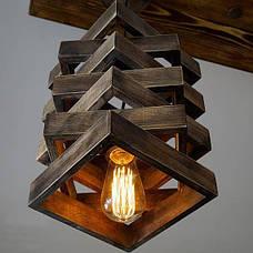 Освітлювальні прилади з дерева