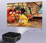 Проектор мультимедійний Wi-light Vivibright F10 портативний HD проектор для будинку і домашнього кінотеатру, фото 5