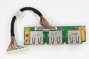 Плата USB (06583-1,48.4t302.011) ACER EXTENSA 5220 5620 5220 5720 7620 7620G TRAVELMATE 7520 7520g, фото 2
