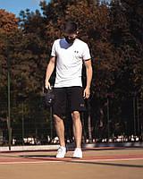 Футболка Андер белая + Шорты Андер черные 0132-0138