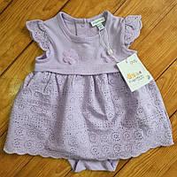 Сукня-боді для дівчинки, ріст 62, колір бузковий
