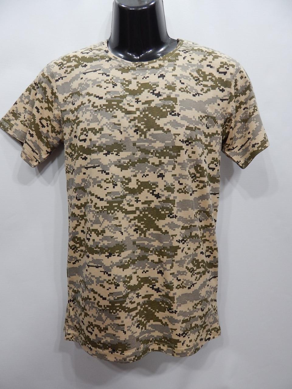 Мужская футболка Mercury-Textile кайот пиксель  р.46 040мф