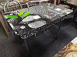 Стіл скляний Абстракція, фото 5