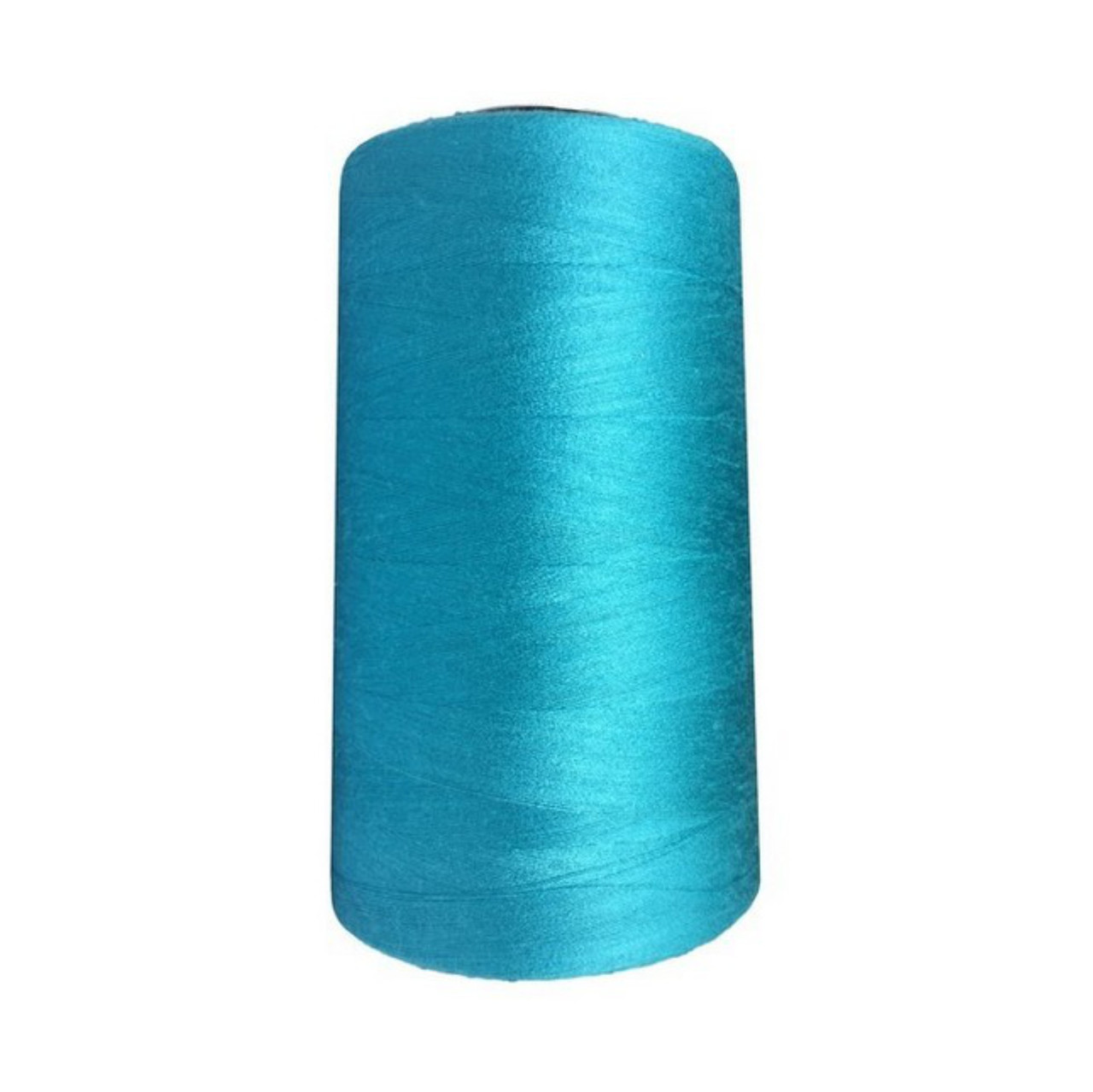 Нить швейная 100% PE 50/2 цв S-549 синий светлый (боб 5000ярдов/12боб/120боб) NITEX