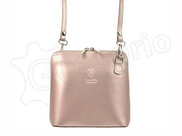 Жіноча шкіряна сумка Barberinis 1702 Світло-рожевий