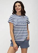 Домашний костюм (пижама) с шортами ТМ Роксана коллекция Marine 1179