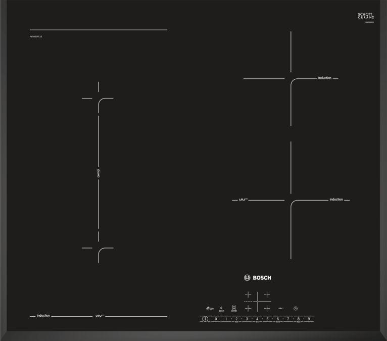 Індукційна варильна поверхня Bosch PVS631BB5E